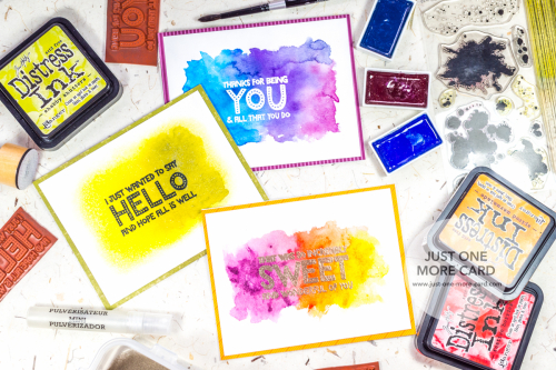 Julia Altermann - Different Ways to Create Watercolor Backgrounds- Sept