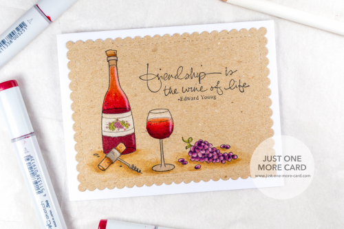 Julia Altermann - Wine Shop Friendship Card