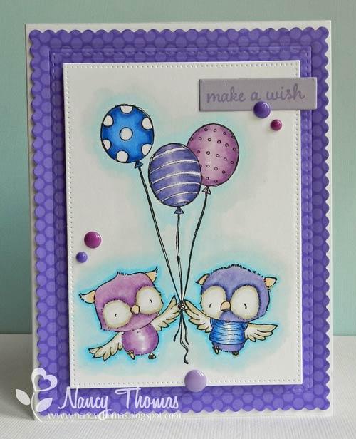 Nancy Thomas -  Lilly Ruby Balloon Trio