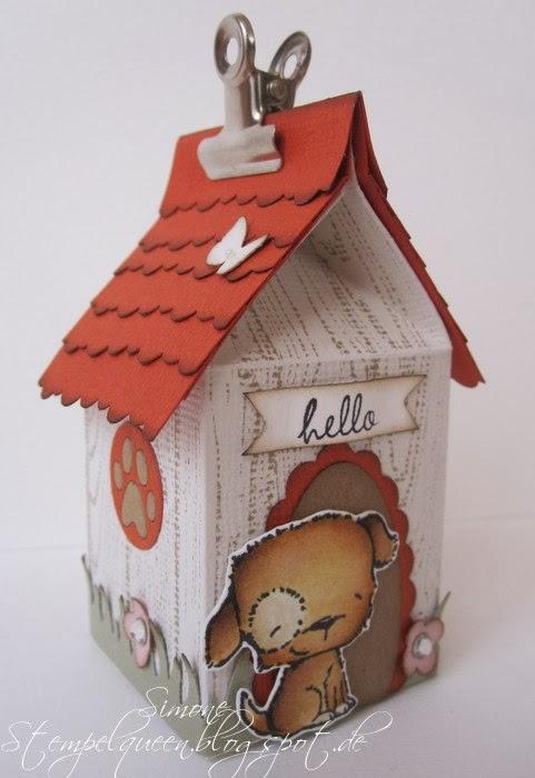 Simone Schwagler - Puddles Milk Carton House - Side