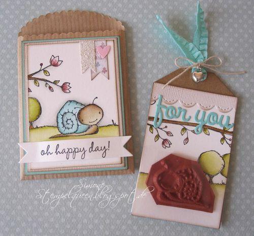 Simone Schwagler - Tucker Gift Envelope & Tag