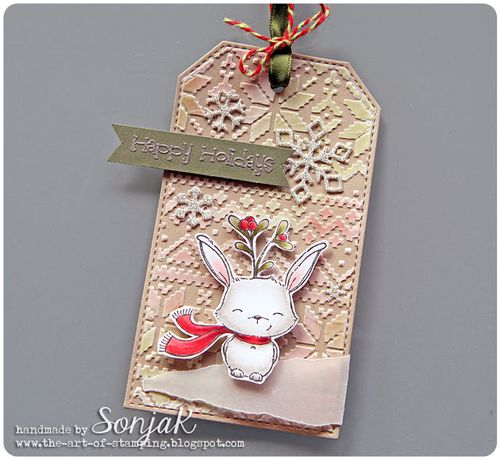 Sonja Kerkhoffs - Fawn Happy Holidays Tag