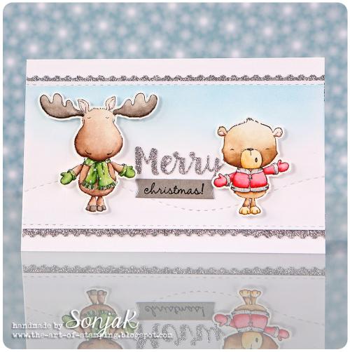 Sonja Kerkhoffs - Spruce and Noel Merry Christmas Card