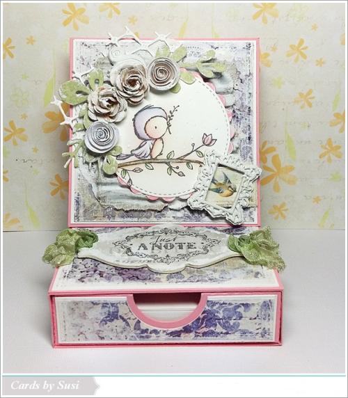 Susen Srb - Peep Note Card Box