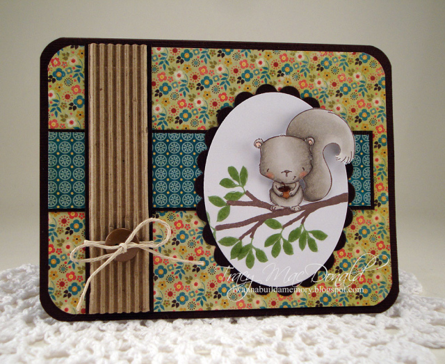 Tracy MacDonald - Cinnamon Card