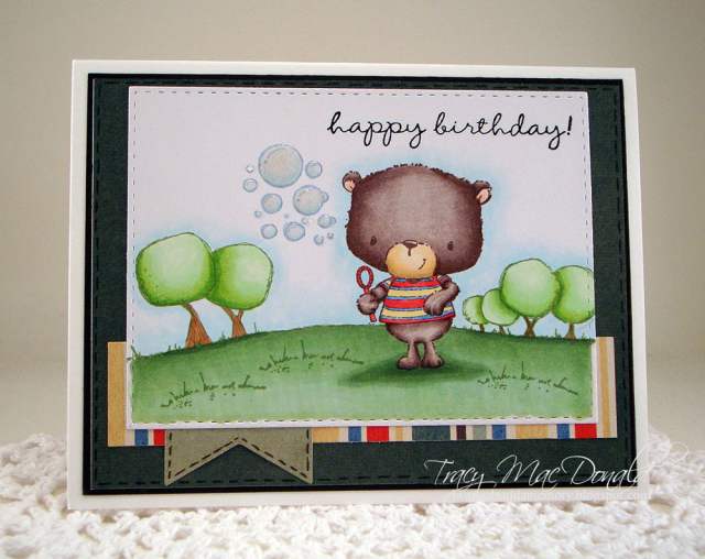 Tracy MacDonald - Jackson Birthday Card