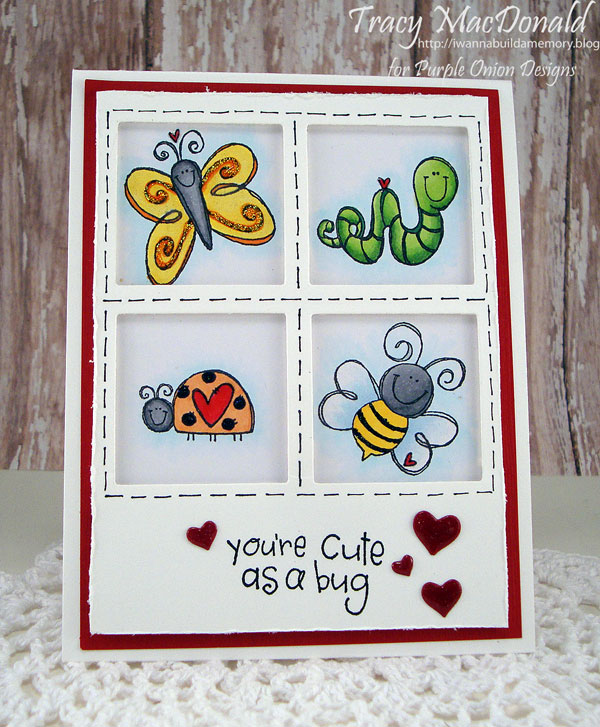 Tracy MacDonald - Love Bug Cute as Bug Card