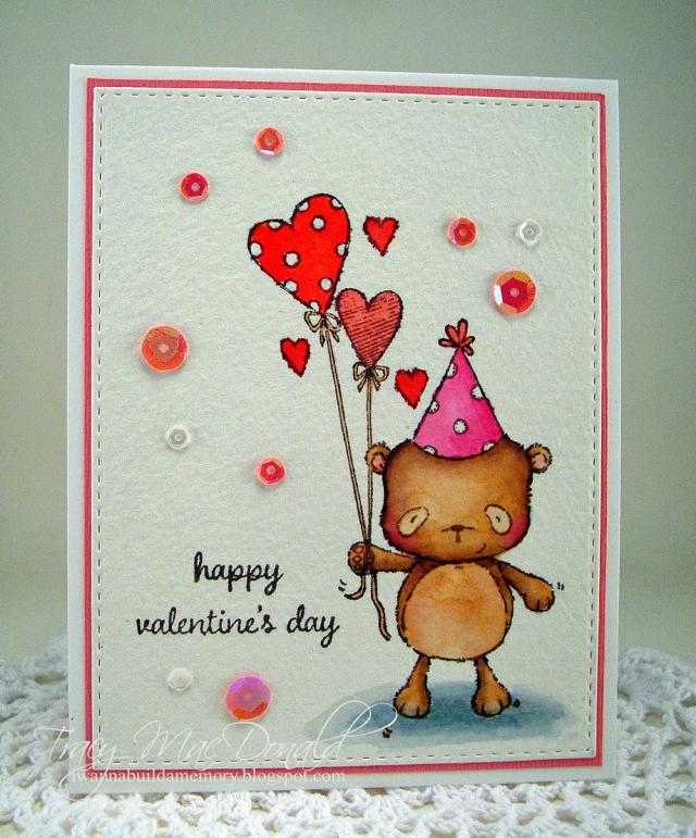 Tracy McDonald - Happy Valentine's Card